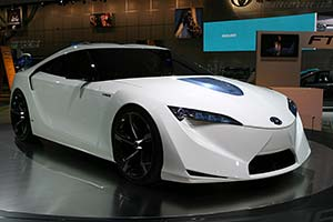 Click here to open the Toyota FT-HS Concept gallery