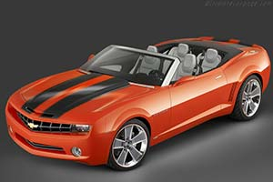 Click here to open the Chevrolet Camaro Convertible Concept gallery