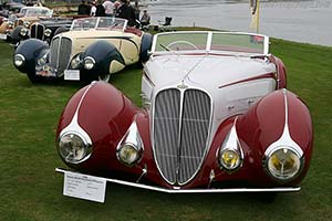 Click here to open the Delahaye 135 Competition Court Figoni & Falaschi Torpedo Cabriolet gallery