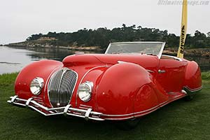 Click here to open the Delahaye 135 M Figoni & Falaschi Narval Cabriolet gallery