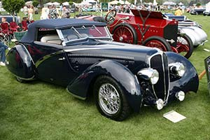 Click here to open the Delahaye 135 Competition Figoni & Falaschi Cabriolet  gallery