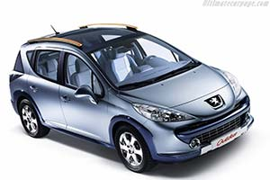 Click here to open the Peugeot 207 SW Outdoor Concept gallery