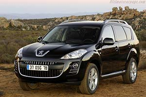 Click here to open the Peugeot 4007 gallery