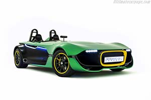 Click here to open the Caterham AeroSeven Concept gallery