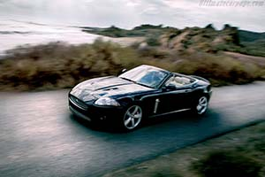 Click here to open the Jaguar XKR Convertible Portfolio gallery