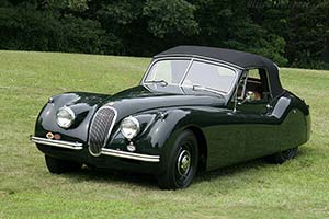 Click here to open the Jaguar XK120 Drop Head Coupe gallery