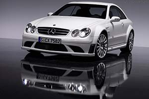 Click here to open the Mercedes-Benz CLK 63 AMG Coupe Black Series gallery