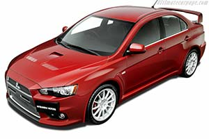 Click here to open the Mitsubishi Lancer EVO X MR gallery