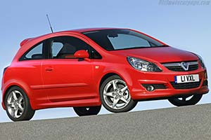 Click here to open the Vauxhall Corsa SRi gallery