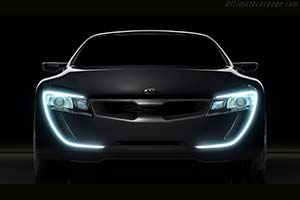 Click here to open the Kia Sports Coupe Concept gallery