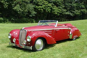 Click here to open the Delahaye 135 MS Guilloré Cabriolet gallery