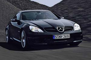 Click here to open the Mercedes-Benz SLK 55 AMG Black Series gallery