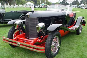 Click here to open the duPont Model G Merrimac Speedster gallery