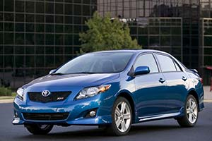 Click here to open the Toyota Corolla XRS gallery