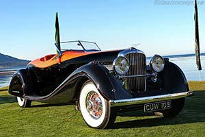 Click here to open the Duesenberg SJ Gurney Nutting Speedster gallery