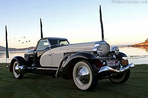 Click here to open the Duesenberg SJ Weymann 'Fishtail' Speedster gallery