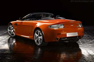 Click here to open the Aston Martin V8 Vantage N400 Roadster gallery