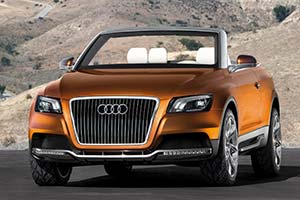 Click here to open the Audi Cross Cabriolet Quattro gallery