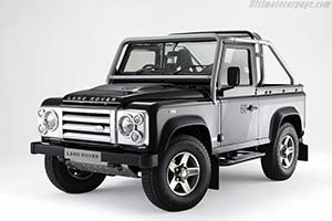 Click here to open the Land Rover Defender 90 SVX gallery