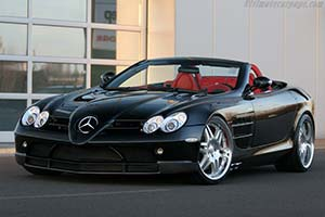 Click here to open the Brabus SLR McLaren Roadster gallery