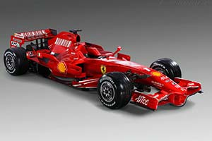 Click here to open the Ferrari F2008 gallery