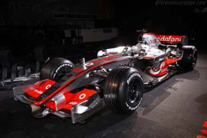 Click here to open the McLaren MP4-23 Mercedes gallery