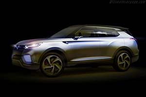 Click here to open the SsangYong XLV Concept gallery