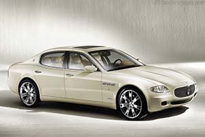 Click here to open the Maserati Quattroporte 'Collezione Cento' gallery