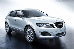 Click here to open the Saab 9-4X BioPower Concept gallery