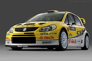 Click here to open the Suzuki SX4 WRC gallery