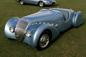 Click here to open the Peugeot 402 Darl'mat Roadster gallery
