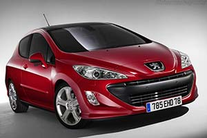 Click here to open the Peugeot 308 GT gallery