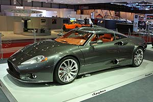 Click here to open the Spyker C8 Aileron Coupe Concept gallery