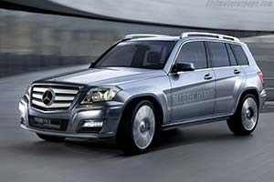 Click here to open the Mercedes-Benz Vision GLK Bluetec Hybrid gallery