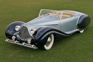 Click here to open the Talbot Lago T26 Record Figoni & Falaschi Cabriolet  gallery