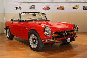 Click here to open the Honda S800 Roadster gallery