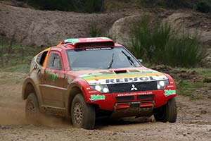 Click here to open the Mitsubishi Pajero Evolution MPR14 gallery