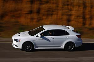 Click here to open the Mitsubishi Lancer Sportback Ralliart gallery
