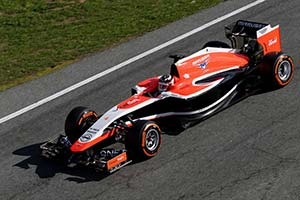 Click here to open the Marussia MR03 Ferrari gallery