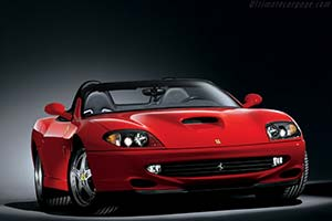 Click here to open the Ferrari 550 Barchetta Pininfarina gallery