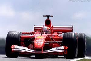 Click here to open the Ferrari F2001 gallery