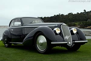 Click here to open the Alfa Romeo 8C 2900B Lungo Touring Berlinetta gallery