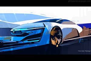 Click here to open the Honda FCEV Concept gallery