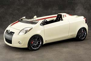 Click here to open the Toyota Yaris Club Concept gallery