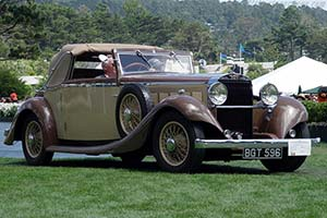 Click here to open the Hispano Suiza K6 Fernandez & Darrin Cabriolet gallery