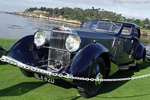 Click here to open the Hispano Suiza K6 Fernandez & Darrin Coupe Chauffeur gallery