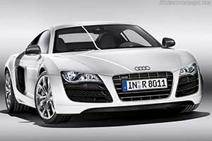 Click here to open the Audi R8 5.2 FSI Quattro gallery