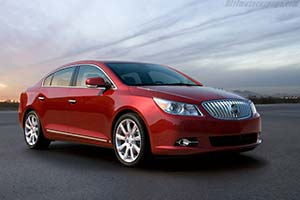 Click here to open the Buick LaCrosse CXS gallery
