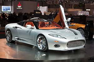 Click here to open the Spyker C8 Aileron gallery