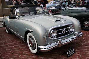 Click here to open the Nash-Healey Pinin Farina Roadster gallery